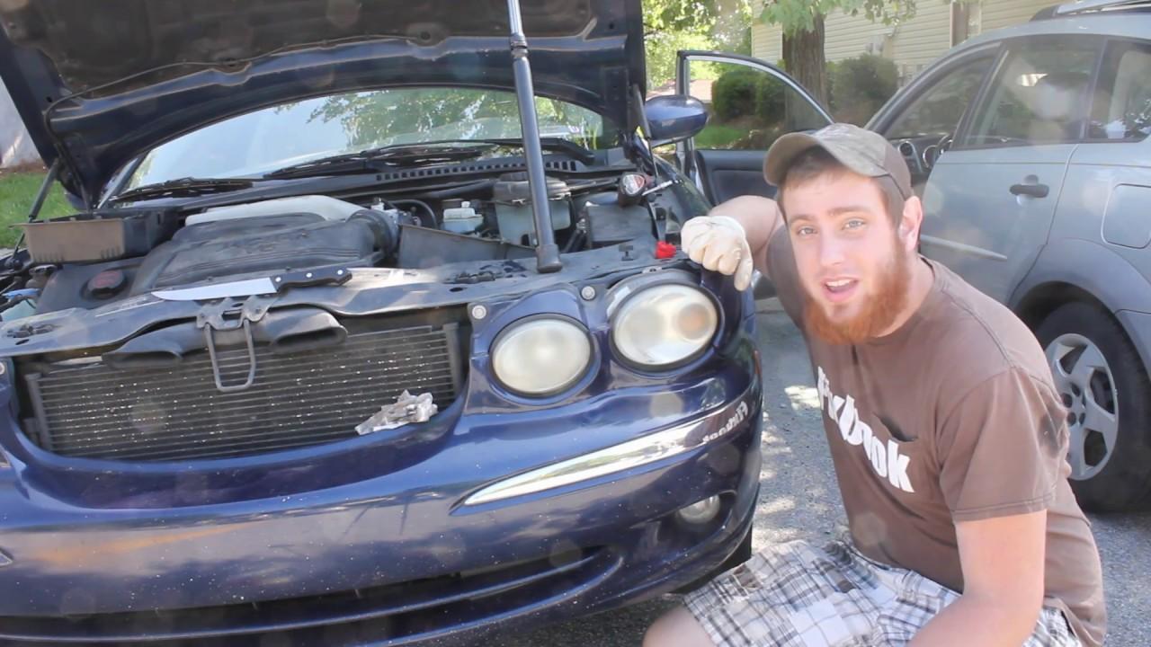 Jaguar x type transmission service