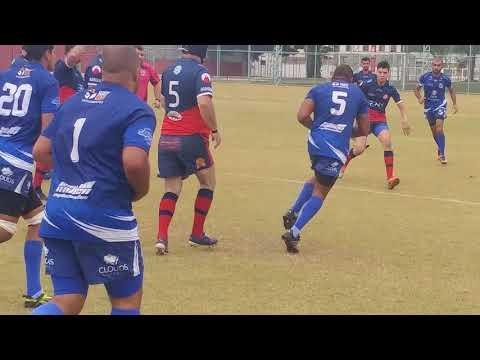 Taubaté Rugby x Barueri Rugby 22-10-2017 1º Tempo