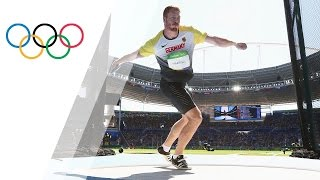 Germany's Harting wins Discus gold