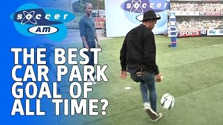 The greatest Soccer AM goal of all time? Harley from Rizzle Kicks scores wonder goal in rehearsals
