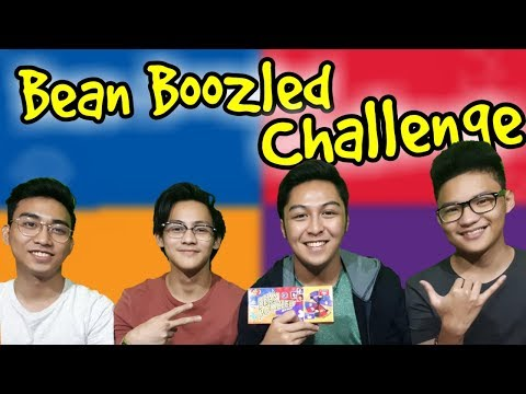 Bean Boozled Challenge with Friends