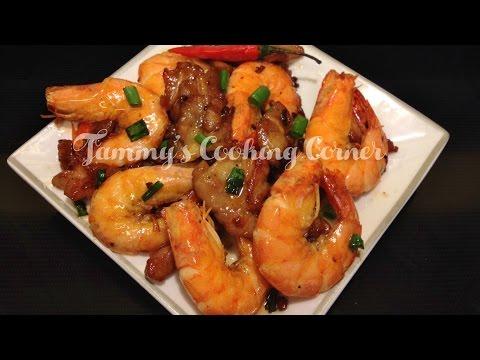 Tôm Rim Thịt  -  Caramelized Pork and Shrimp Recipe