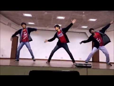 vit dance performance | allu arjun sweety song | race gurram | bharathkanth