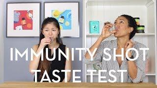 Immunity Shot Taste Test