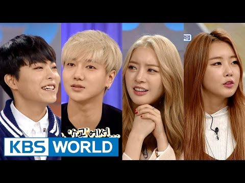 Hello Counselor - Yesung, Ayoung, Subin & Park Sihwan (2016.01.25)