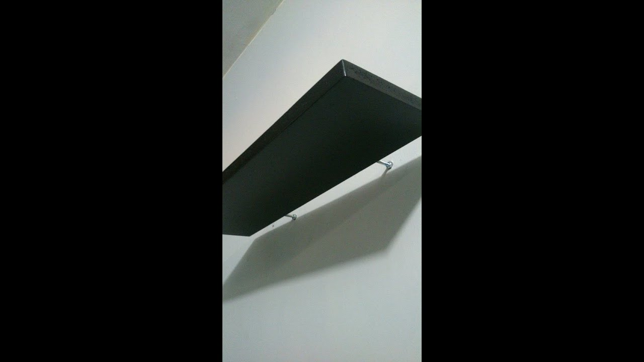 Repisa flotante instalacion y creaci n de herrajes o for Manual para hacer muebles de melamina
