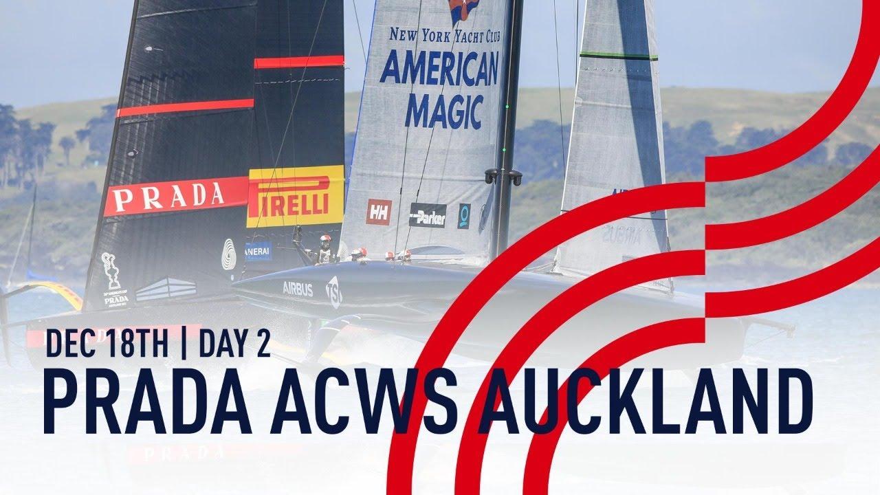 Full Race Replay | Day 2 | PRADA America's Cup World Series Auckland, NZ