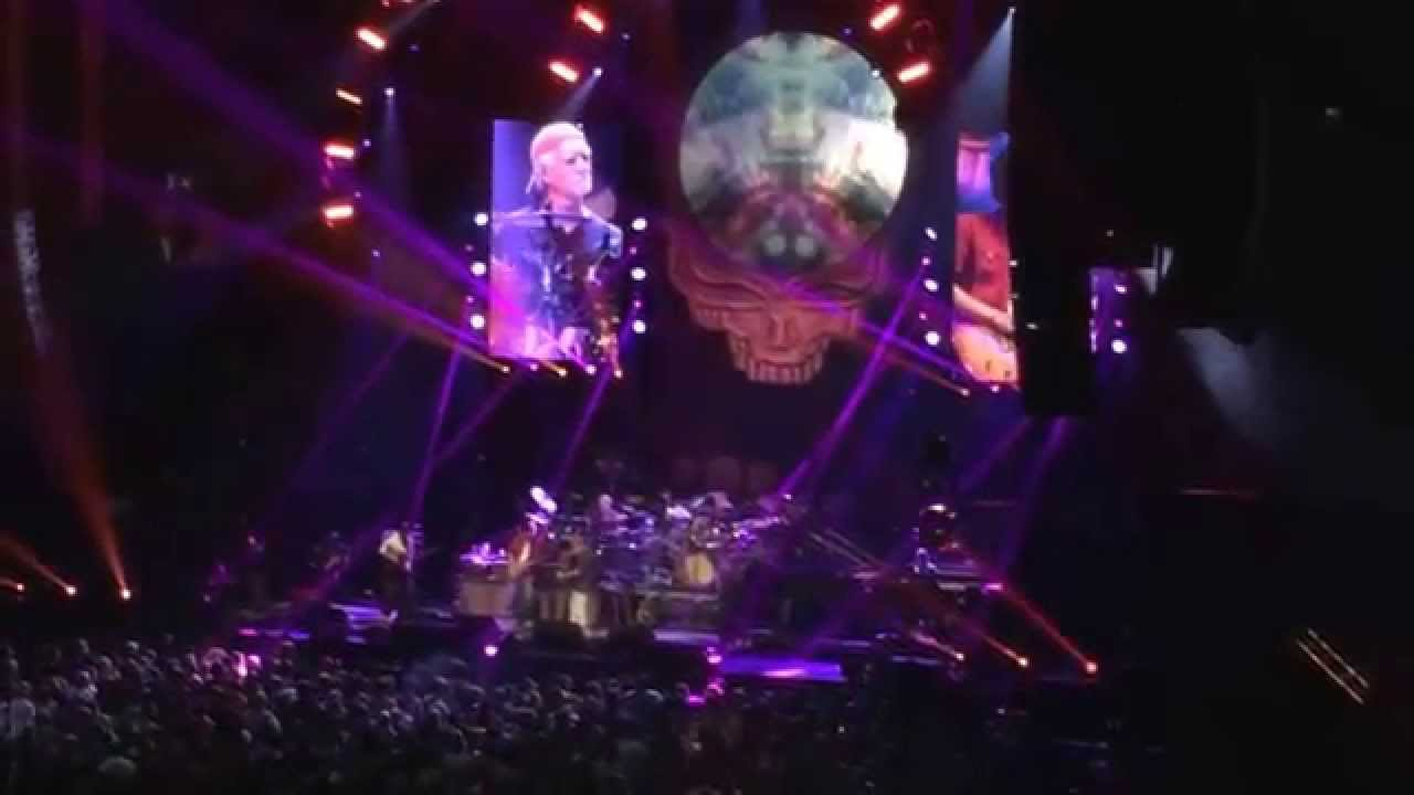 Franklin 39 s tower dead and company at madison square garden nyc 11 7 15 youtube for Dead and company madison square garden