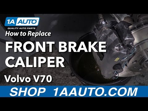 How to Replace Front Brake Caliper 00-07 Volvo V70