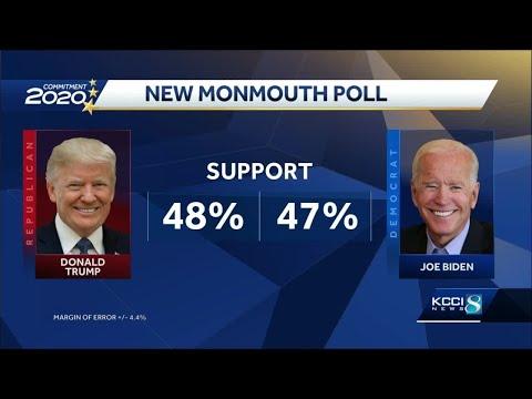 New poll shows tight Presidential, U.S. Senate races in Iowa