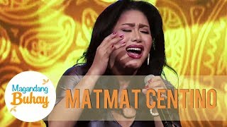 Matmat Centino sings Saan Darating Ang Umaga | Magandang Buhay