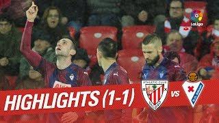 Resumen de Athletic Club vs SD Eibar (1-1)