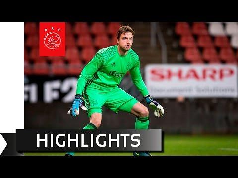 Highlights Jong FC Utrecht - Jong Ajax
