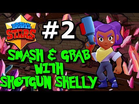 BRAWL STARS Gameplay Walkthrough Episode 2 ★ Smash & Grab With Shotgun Shelly Plus NEW Brawlers!