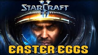 StarCraft II: Wings Of Liberty - Easter Eggs