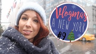 NEW YORK SOUS LA NEIGE [ VLOGMAS A NEW YORK 9 ] 2017 Video