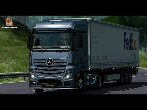 Mercedes Actros CAT Engine Sound | Euro Truck Simulator 2 (ETS2 1.28 Mod)