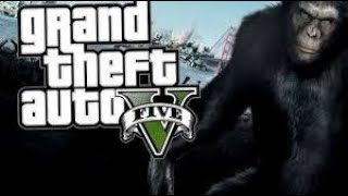GTA 5 играем за обезьяну