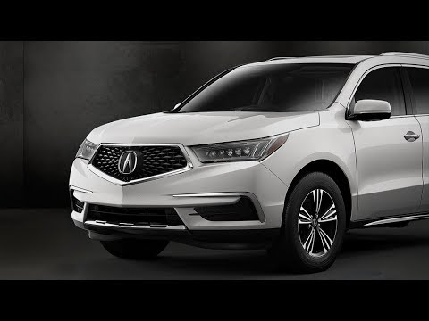 2018 Acura Mdx Advance And Entertainment Packages