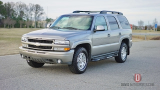 Davis AutoSports 1 OWNER 2003 Tahoe Z71 Tahoe FOR SALE
