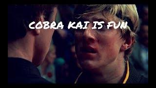 COBRA KAI IS FUN 🔥