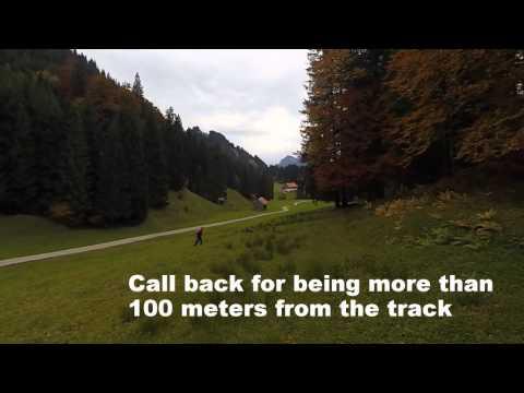 KBGS preliminary blood tracking test filmed in Germany