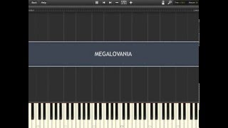 MEGALOVANIA  - Undertale [Synthesia]