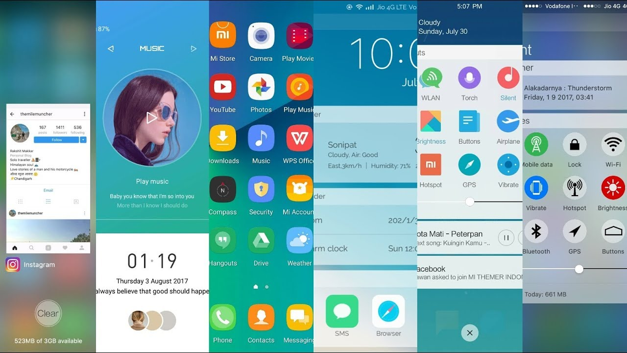 Best miui 8 and miui 9 themes  August 2017