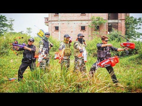 LTT Nerf War : SEAL X Warriors Nerf Guns Battle Attack Dangerous Criminals Rescue The Lover