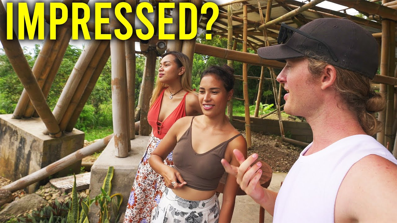 Foreigner Tour GUIDING Two FILIPINAS in the PHILIPPINES!?