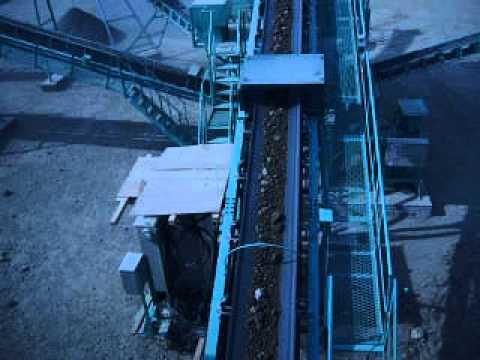 Ленточные конвейеры дробильного комплекса NAKAYAMA