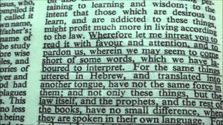 What does the KJV Bible have to say about the Hebrew Language? Pt. 1