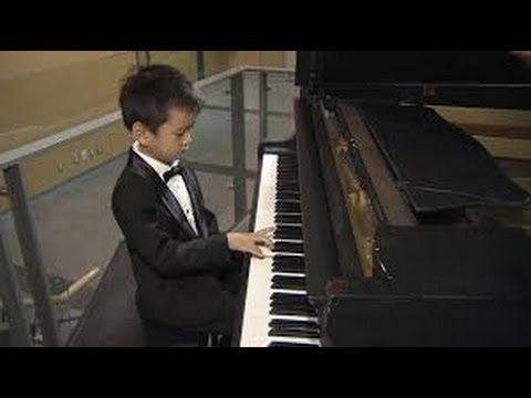 Ryan wang five year old prodgy on ellen show(THE ELLEN SHOW-2013)