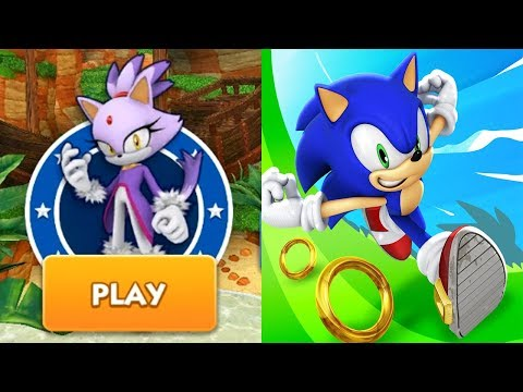 Sonic Dash - BLAZE Android Gameplay Ep 27