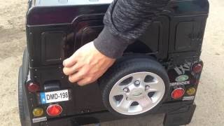 Land Rover Defender детский электромобиль в интернет-магазине Toys01(Land Rover Defender детский электромобиль в интернет-магазине Toys01., 2016-07-12T11:29:06.000Z)