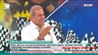 Besiktas 2-1 Yeni Malatyaspor | Takım Oyunu ERMAN TOROĞLU YORUMU