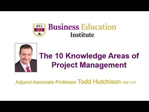 Project Management The 10 Knowledge Areas Explained Youtube