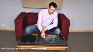 Rega RP1 Performance & RP3 review and comparison by Movement Audio (Poole & Salisbury)