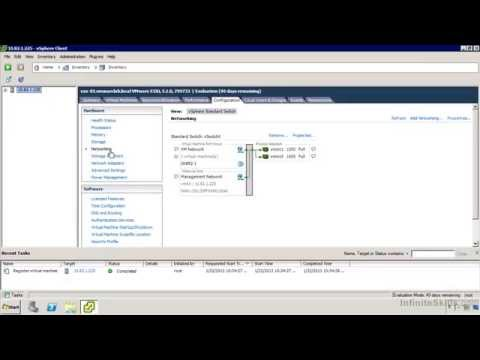 VMware ESXi & vSphere 5.1 Admininstration Training : Introduction To Networking
