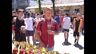Турнир по стритболу в Симферополе