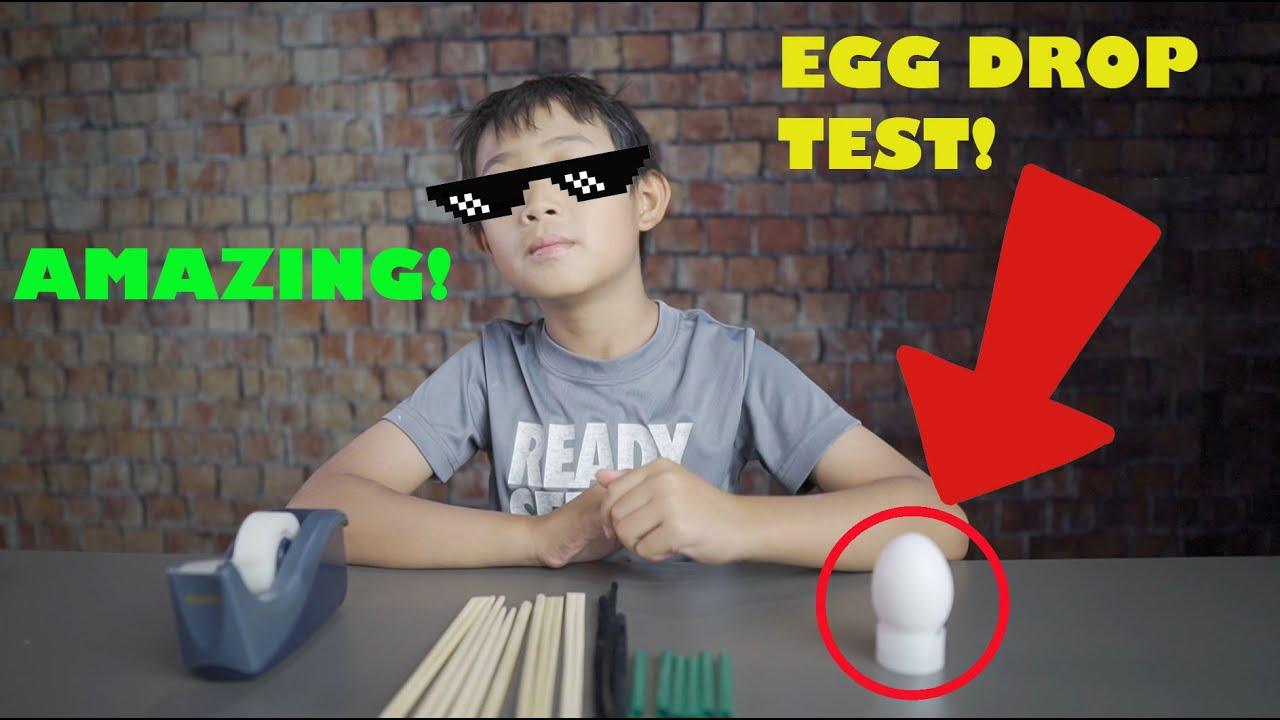 Egg Drop Project (Actual 3rd Grade Science Homework)