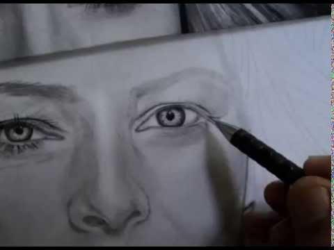 Ebook grátis. Desenho de retratos artístico passo a passo