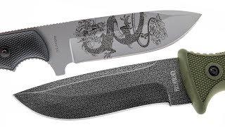 The Best Knife & Blade Laser Engraving Machine