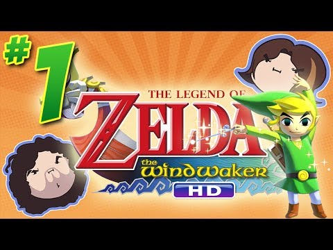 Wind Waker HD: At the Outset - PART 1 - Game Grumps