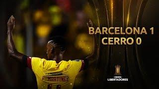 Barcelona SC vs. Cerro Porteño [1-0] | GOLES | Fase 3 (Ida) | Libertadores 2020