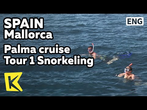 【K】Spain Travel-Mallorca[스페인 여행-마요르카]팔마 해변, 유람선 투어 1 – '스노클링'/Palma cruise Tour 1 Snorkeling/Villa