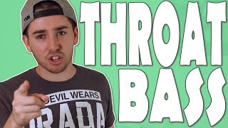 How To Beatbox - Throat Bass Tutorial (Many Variations)