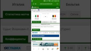 Футбол Лига Наций УЕФА Италия Бельгия Прогноз на матч