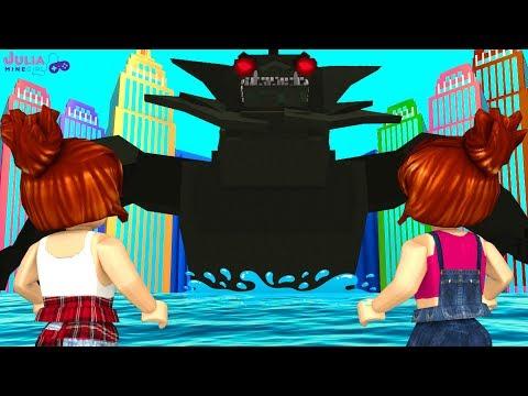 Roblox - O MONSTRO DO LAGO (Disaster Dome)