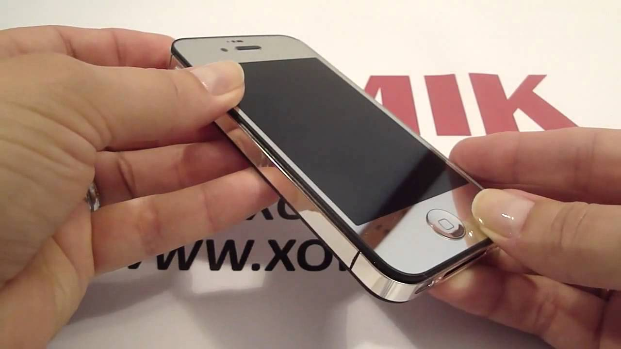 зеркальный фото айфон